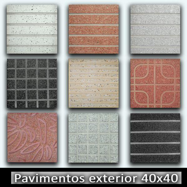 Terrazos atlantico material de construcci n las palmas - Pavimento para exterior ...